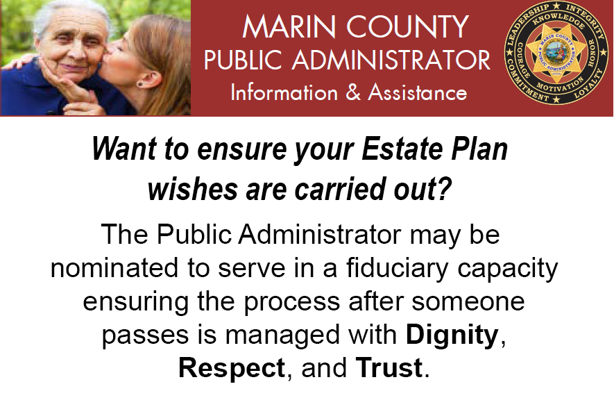 Marin County Public Administrator